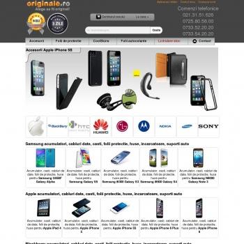 Website pentru firma SC Wybee SRL