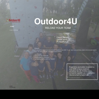 Team Building Outdoor4u.ro