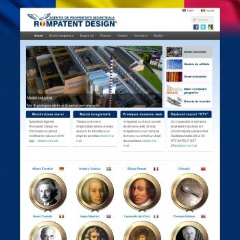 Rompatent Design - agentie consultanta proprietate industriala