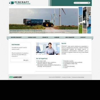 Website pentru firma SC PENCRAFT SRL