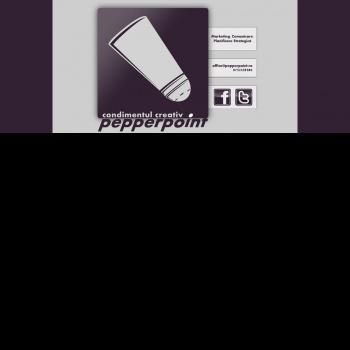 Website pentru firma SC PEPPERPOINT SRL