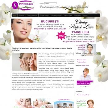 Website pentru firma CMI Adriana Fratilescu