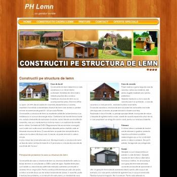 Website pentru firma Pretty House SRL
