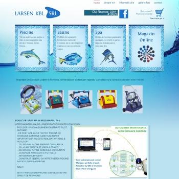 Website pentru firma LARSEN KBL