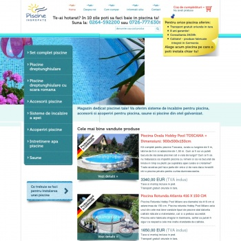 echipamente piscine