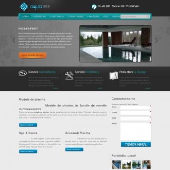 Website pentru firma Aqua Euro Consult MC