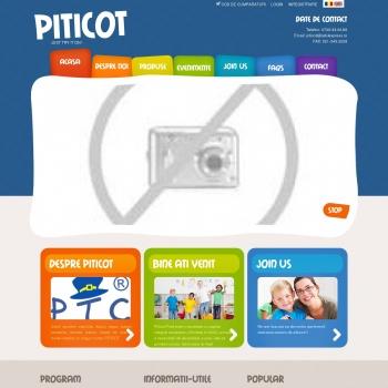 Website pentru firma Piticot Prod