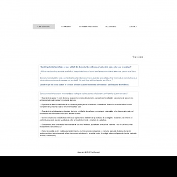 Website pentru firma Poolconsult