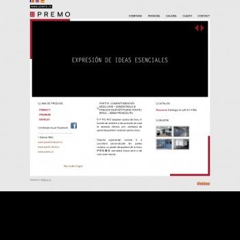 Website pentru firma SC EURO PREMOSA SRL