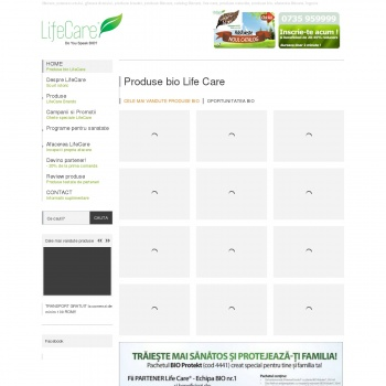 Produse Bio Lifecare