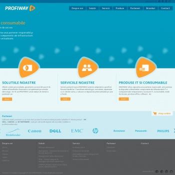 Website pentru firma PROFIWAY SRL