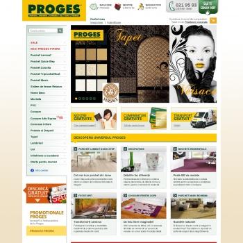 Website pentru firma Proges