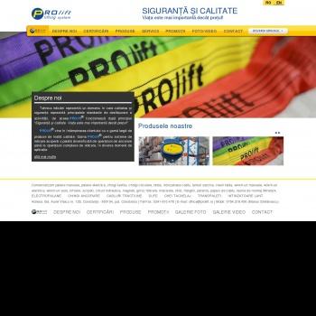 Website pentru firma SC FORUM INDUSTRY SRL