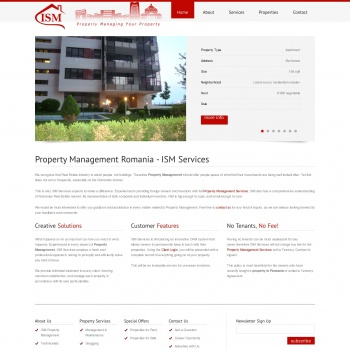 Property management romania