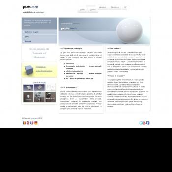 Website pentru firma SC prot-tech SRL
