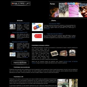 Publicitate indoor | Publicitate lift
