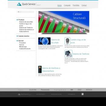 Website pentru firma Quick Service