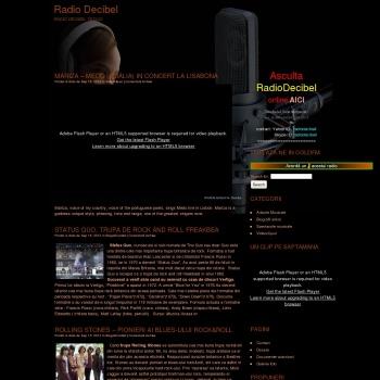 RadioDecibel Tecuci - online