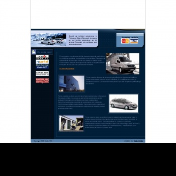 Website pentru firma RAIDER SRL