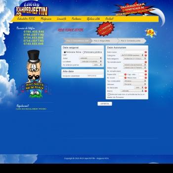 Website publicat de laslo dan dumitru