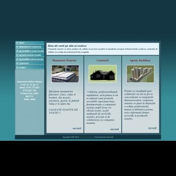 Website pentru firma real imob estate srl