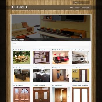 Website pentru firma SC ROBIMEX SRL