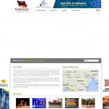 Ghid turistic Romania