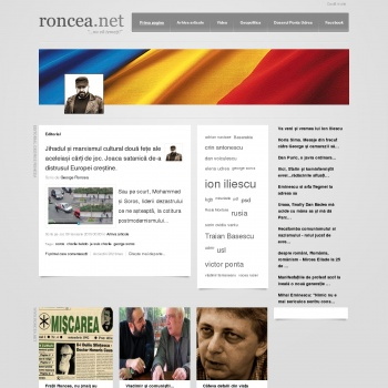 site web George Roncea