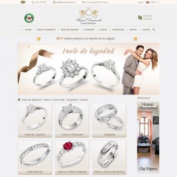 Website pentru firma SC Discover Trading SRL