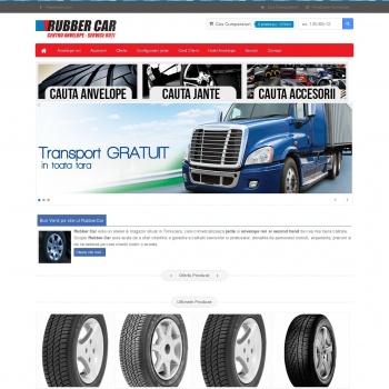 Website pentru firma Rubber Car