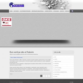 Website pentru firma SC RULEXIM SA