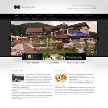Website pentru firma SC Baile Ticleni SRL