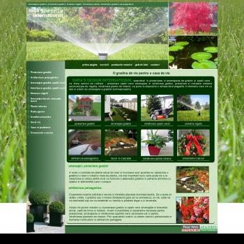 Website pentru firma SC Sara