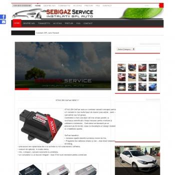 Website pentru firma SC Sebi Prodcom SRL