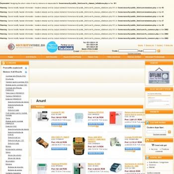 Magazin online echipamente securitate