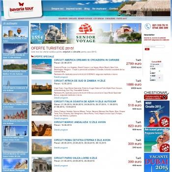 Website pentru firma Oferte Excursii