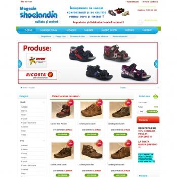 Website pentru firma SC Britania SRL