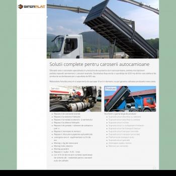 Website pentru firma SIFERPLAT