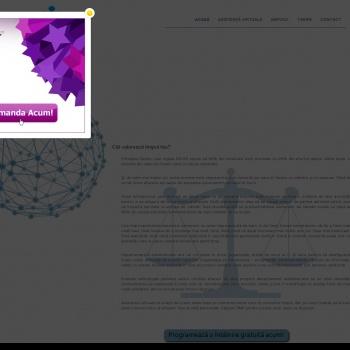 Website pentru firma PETROV ELENA PFA