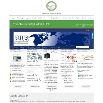 Web design, Inregistrare domenii, Gazduire web,