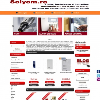 Website pentru firma I.I SOLYOM MARCEL-SERGIU