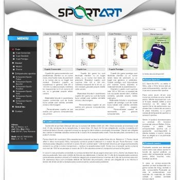 Echipamente sportive Cupe sportive Medalii Trofee