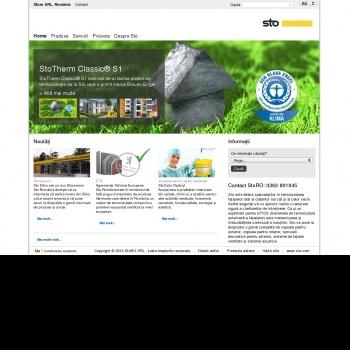 Website pentru firma SC STORO SRL
