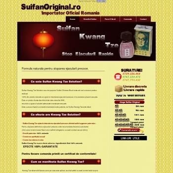 Solutie Suifan - Tratament ejaculare precoce