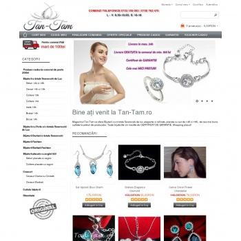 Website pentru firma SC IDEAS TAN-TAMSRL
