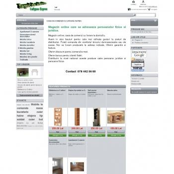 Website pentru firma Callypso Expres