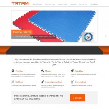 Website pentru firma TATAMI PRO