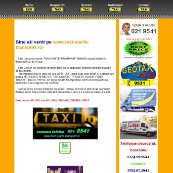 TAXI TRANSPORT MARFA MUTARI TEL 021 9531/021 9541