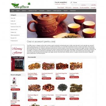 Magazin online de ceaiuri si accesorii pentru ceai - Tea Gifts