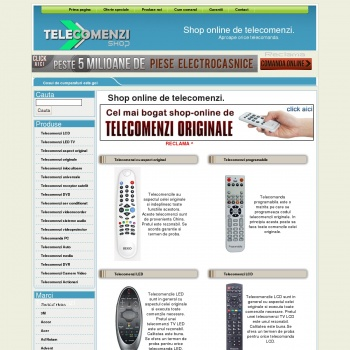 Shop online de telecomenzi